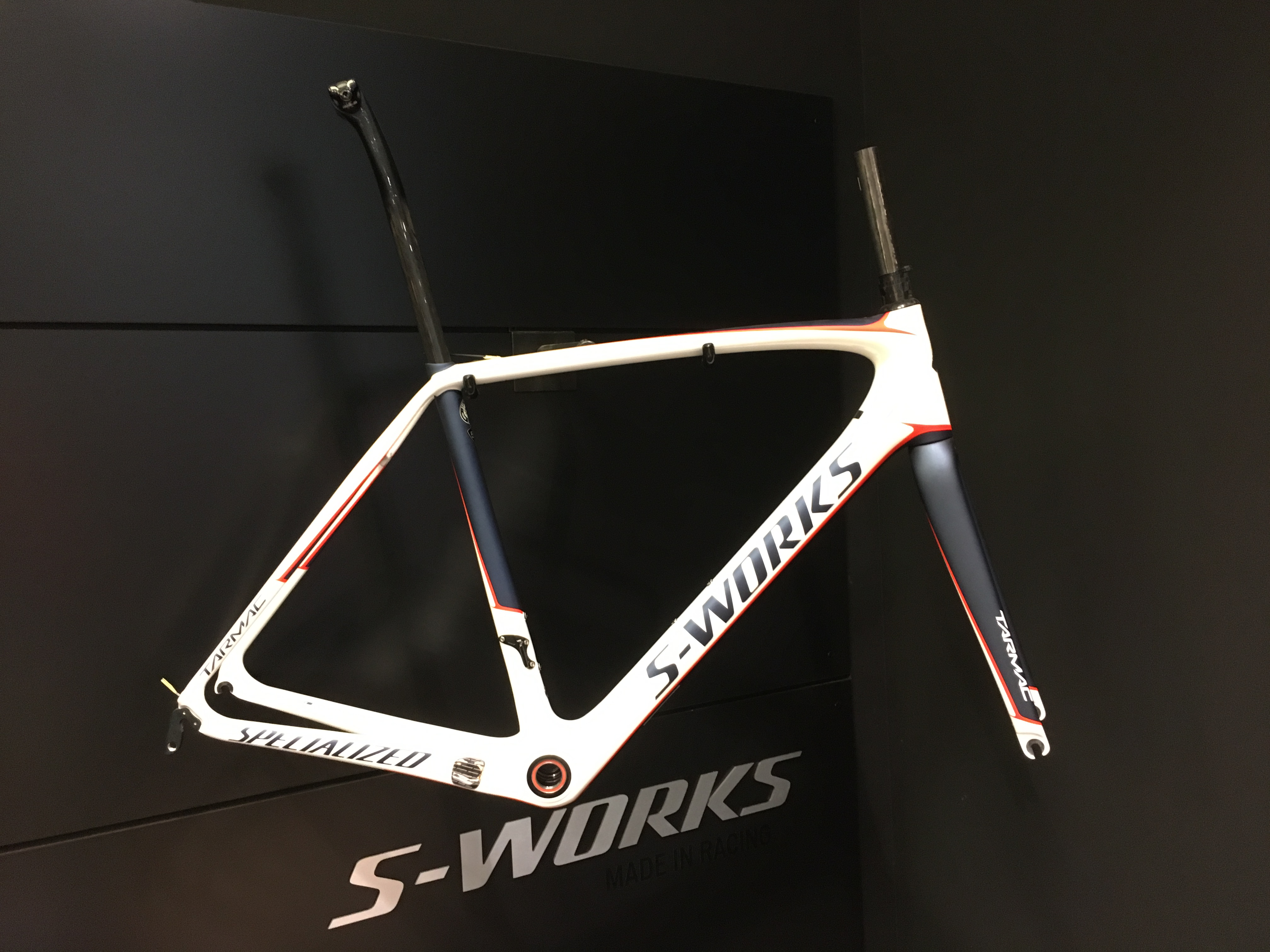 Cadre Specialized S-Works Tarmac 56 2017 Image