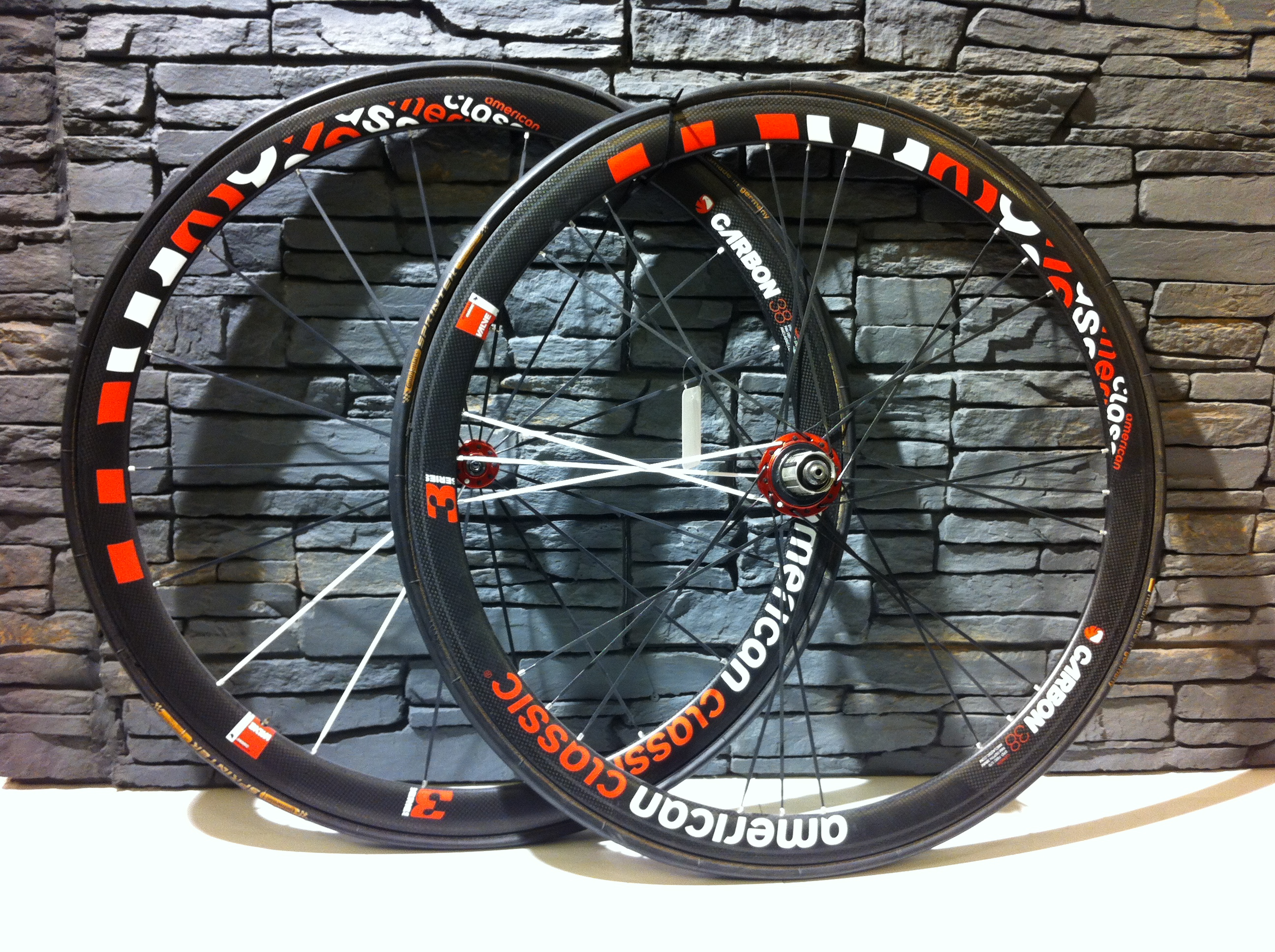 Roues American Classic Carbon 38 Image
